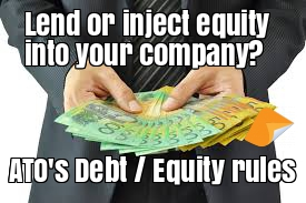 debt equity rules lend money to company loan agreement
