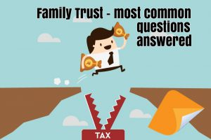 family trust deed questions